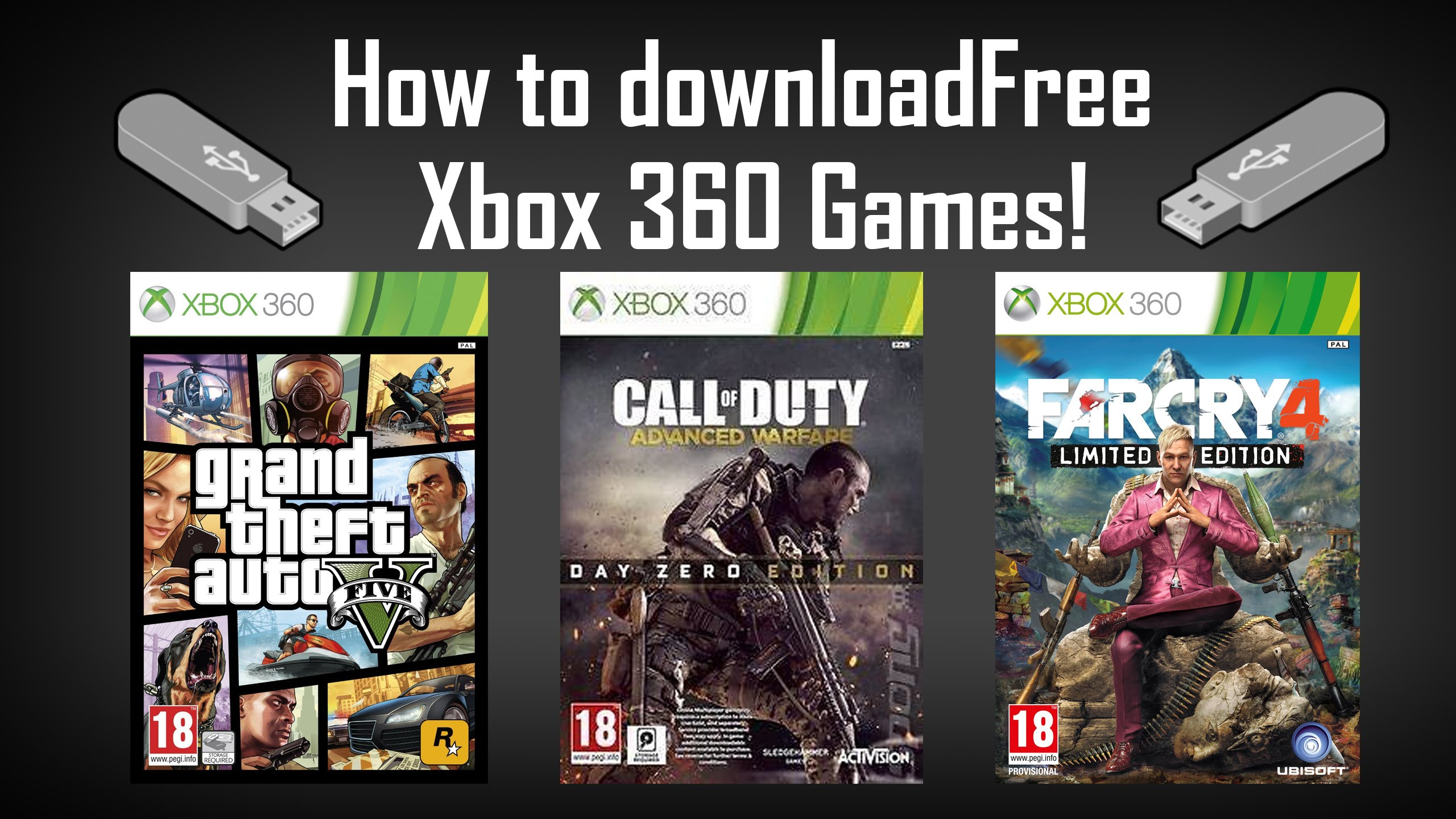 How to download Xbox 360 games for free on USB and play *June 2016* -  LatestGameVideos