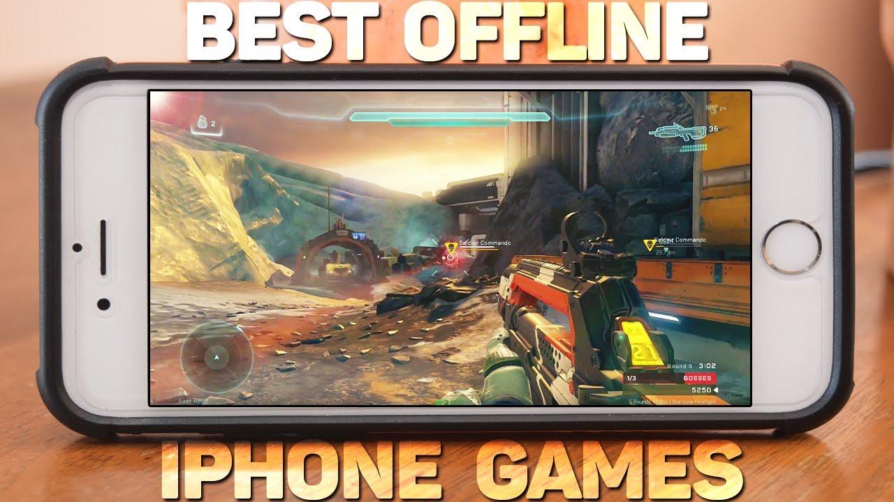 best iphone games free no internet