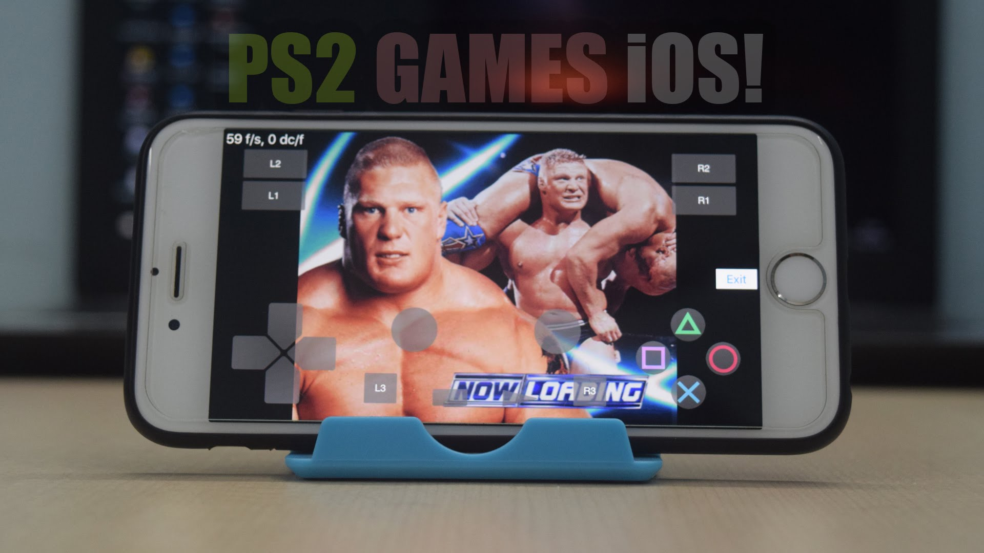 How To Play PS2 Games on iOS (LAGGY) | PlayStation 2 Emulator For