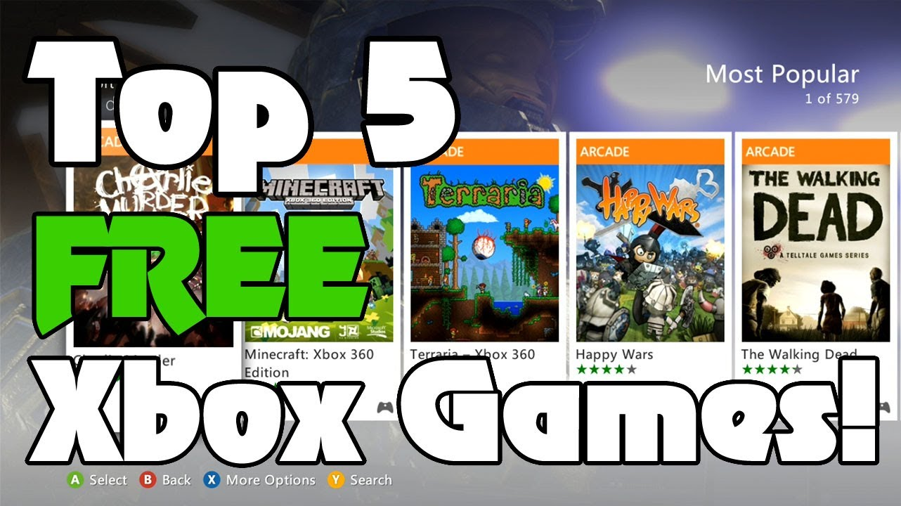 Top 5 Free Xbox 360 Arcade Games From Marketplace Latestgamevideos